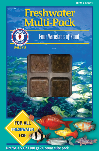 San francisco bay freshwater multi pack pet world and for Freshwater fish food